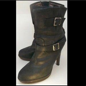 Steve Madden SKYYEE Black Heeled Boots